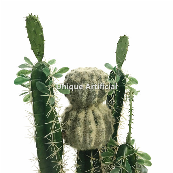 68cm Height Artificial Cactus With Ball, Outdoor Artificial Cactus Plants
